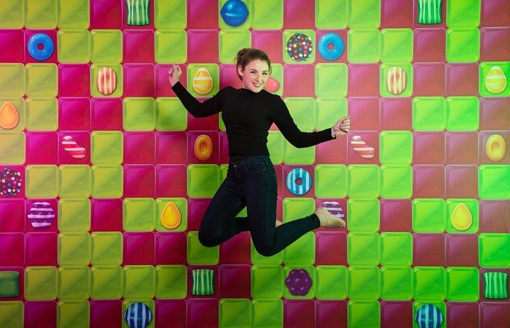 Super-sized bouncy castle for grown-ups will be coming to the South Bank this March 3rd-5th 2016, to celebrate the launch of King's latest game, Candy Crush Jelly Saga