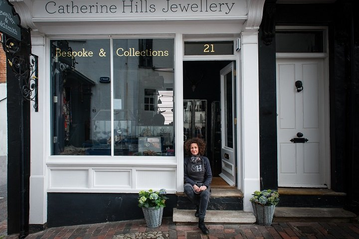 Catherine Hills Jewellery - Outside The Shop