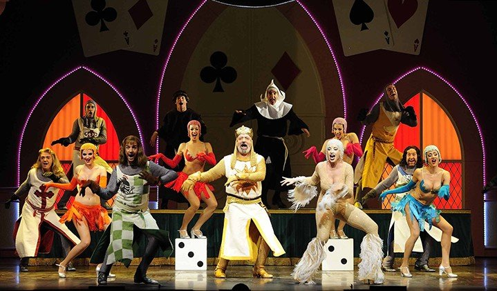 "Telling the legendary tale of King Arthur and the Knights of the Round Table, and their quest for the Holy Grail, ""Monty Python's Spamalot"" features a chorus line of dancing divas and knights, flatulent Frenchmen, killer rabbits, and one legless knight. (Photo contributed)"