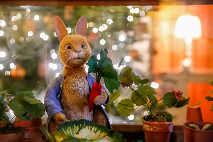 Beatrix Potter themed Christmas at Leeds Castle, Kent. Picture by: www.matthewwalkerphotography.com