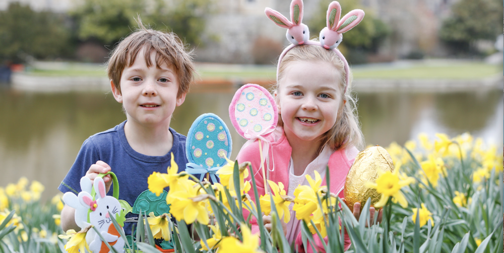 Leeds castle easter egg hunt